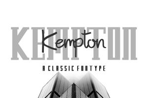 Kempton Serif