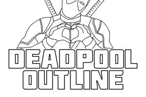 Deadpool Outline