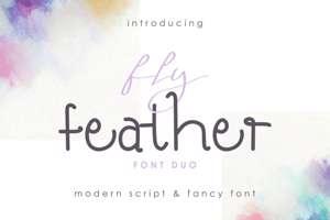 Fly Featherdemo Fancy