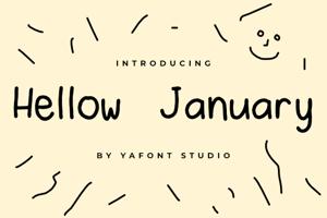 Hellow January