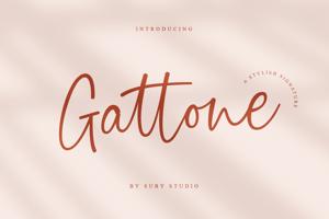 Gattone Script