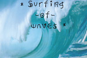 Surfing  of waves
