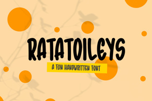 Ratatoileys - Font Handwritten