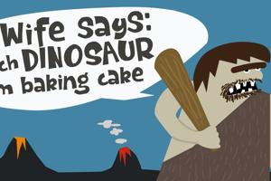 Dinosaur Cake DEMO