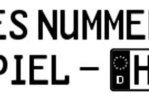 GL-Nummernschild