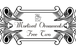Mortised Ornaments Free Two