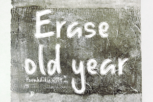 Erase Old Year