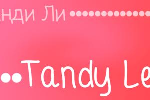 Tandy Lee