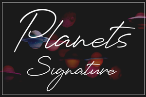 Planets Signature