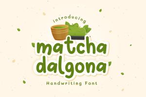 Matcha Dalgona