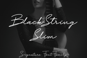 Black String Slim