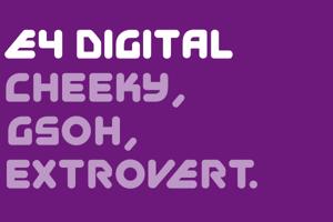 EFour Digital Font