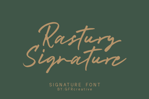 Rastury Signature