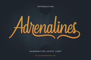 Adrenalines
