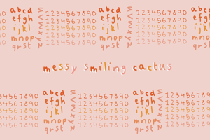 Messy Smiling Cactus