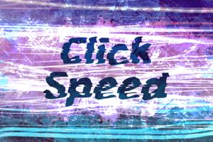 c Click Speed