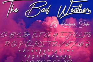 The Bad Weather Demo