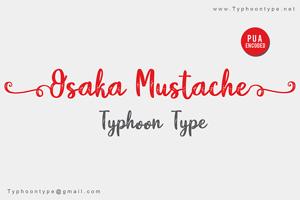 Osaka Mustache (Personal Use)