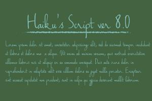 Haiku's Script ver.06