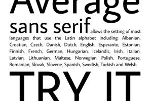 Average Sans
