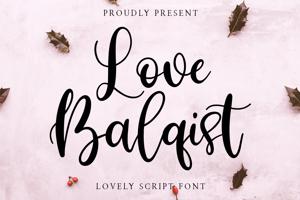 Love Balqist