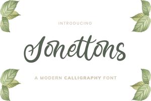 Sonettons Script