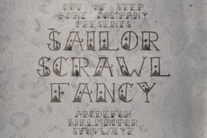 Sailor Scrawl Fancy