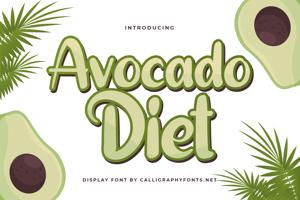 Avocado Diet