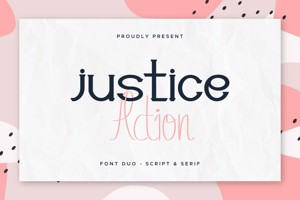 Justice Action Serif