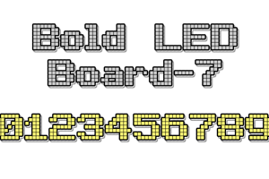 Bold LED Board-7
