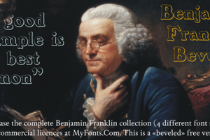 BenjaminFranklin Beveled