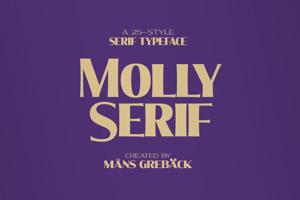 Molly Serif Condensed