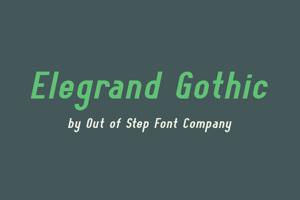 Elegrand Gothic
