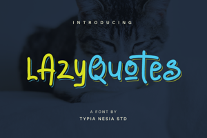 Lazy Quotes Demo