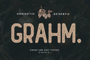 GRAHM Sans Serif
