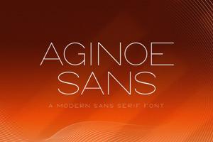 Aginoe Sans