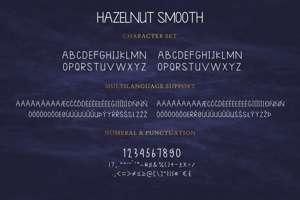 Hazelnut Smooth Sans