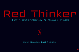Red Thinker Light