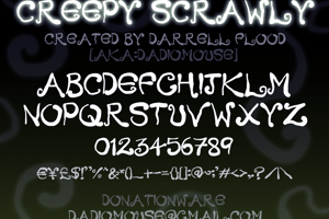 Creepy Scrawly