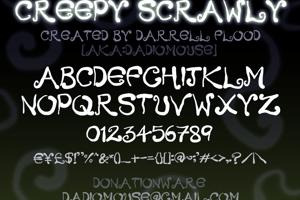 Creepy Scrawly