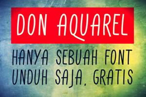 Don Aquarel
