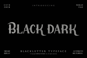 Black Dark