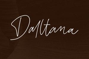 Daltana Handwriting