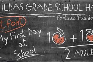 MATILDAS GRADE SCHOOL HAND