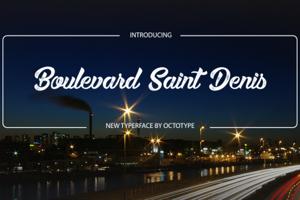 Boulevard Saint Denis