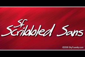 SF Scribbled Sans