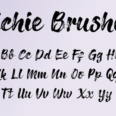 Girly Handwritten Fonts collection
