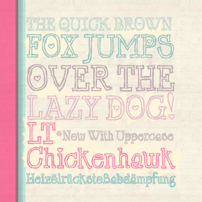 Cutie Fonts collection