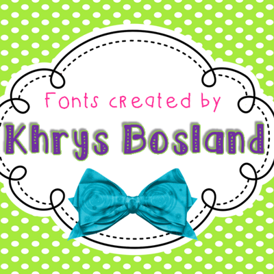Classroom Fonts collection