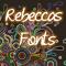 FontsByRebecca